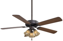 "Minka-Aire F647-ORB/TS - Contractor Uni-Pack  52"" - Oil Rubbed Bronze/Tea Stain"