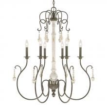 Capital 410362FC - 6 Light Chandelier