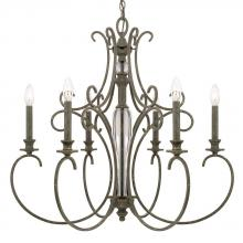 Capital 417761FG - 6 Light Chandelier