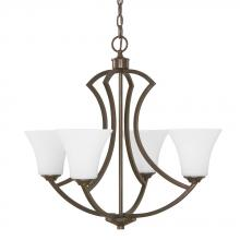 Capital 4697BB-145 - 4 Light Chandelier